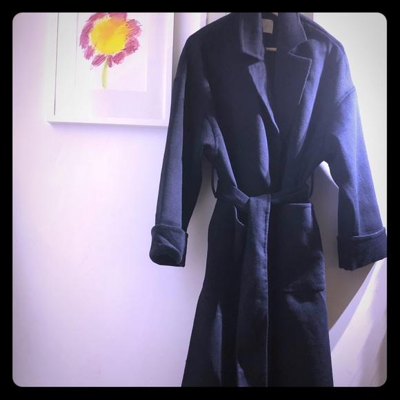 H&M oversized wool blen coat